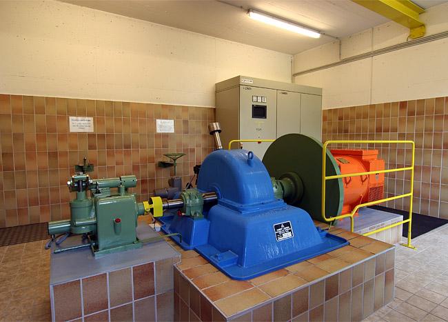 Trinkwasserkraftwerk